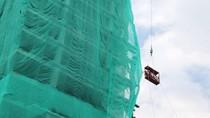 Persiapan Perobohan Gedung 17 Lantai di Bintaro