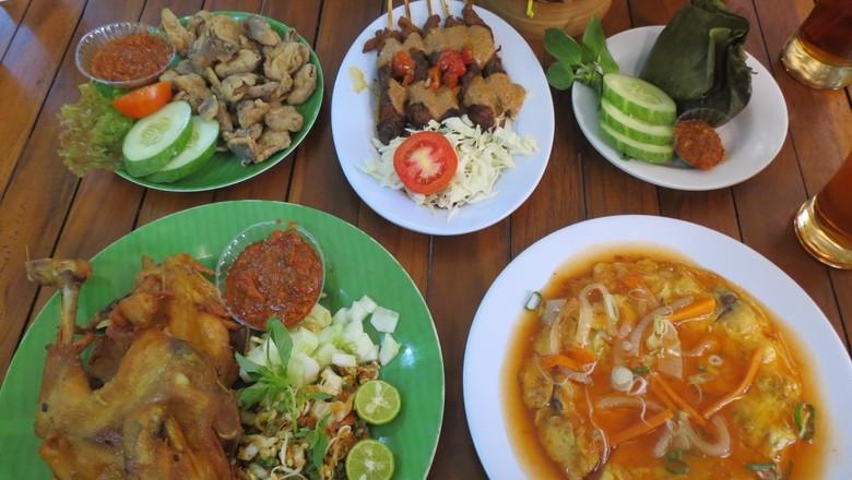 Aneka menu lezat serba jamur di Jejamuran (Fitraya/detikTravel)