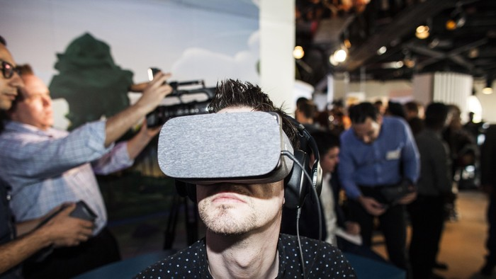 Daydream View. Foto: GettyImages/Ramin Talaie