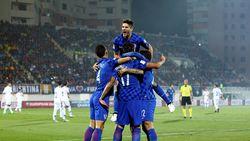 Kroasia Gilas Kosovo 6-0, Islandia Menang Dramatis