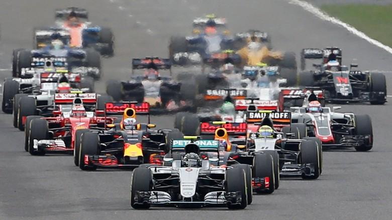 Rosberg Tak Terbendung di Suzuka