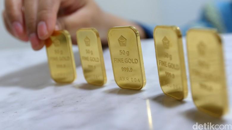 Naik Rp 5.000, Emas Antam Dijual Rp 618.000 per Gram