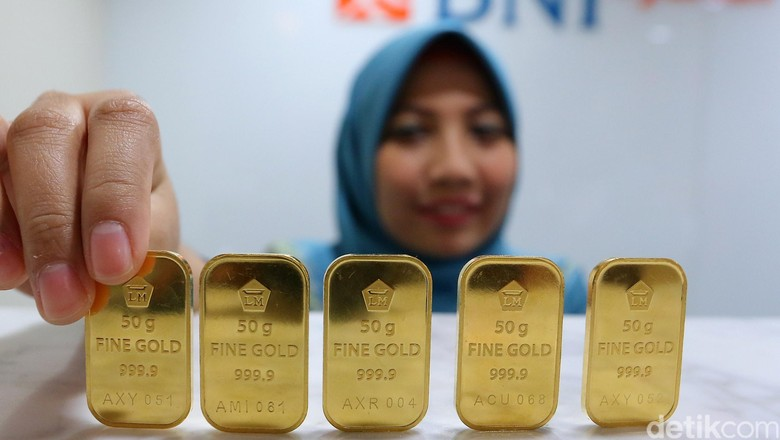 Naik Lagi, Emas Antam Dijual Rp 625.580/Gram
