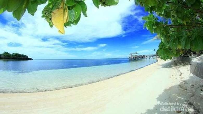 Foto: Pulau Tomia di Wakatobi (Hanani Fadlilah/dTraveler)