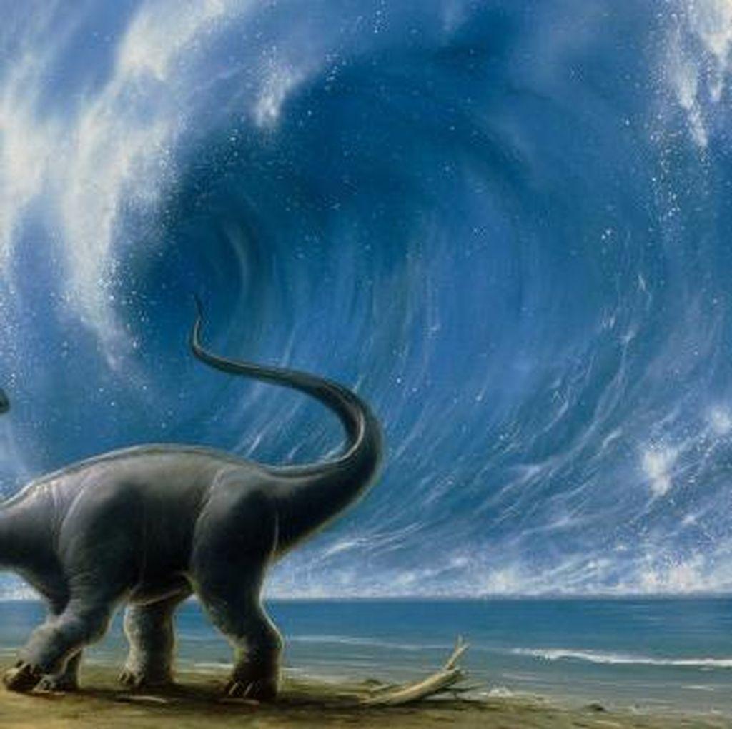 Penyebab Dinosaurus Punah Ternyata Bukan Cuma Asteroid