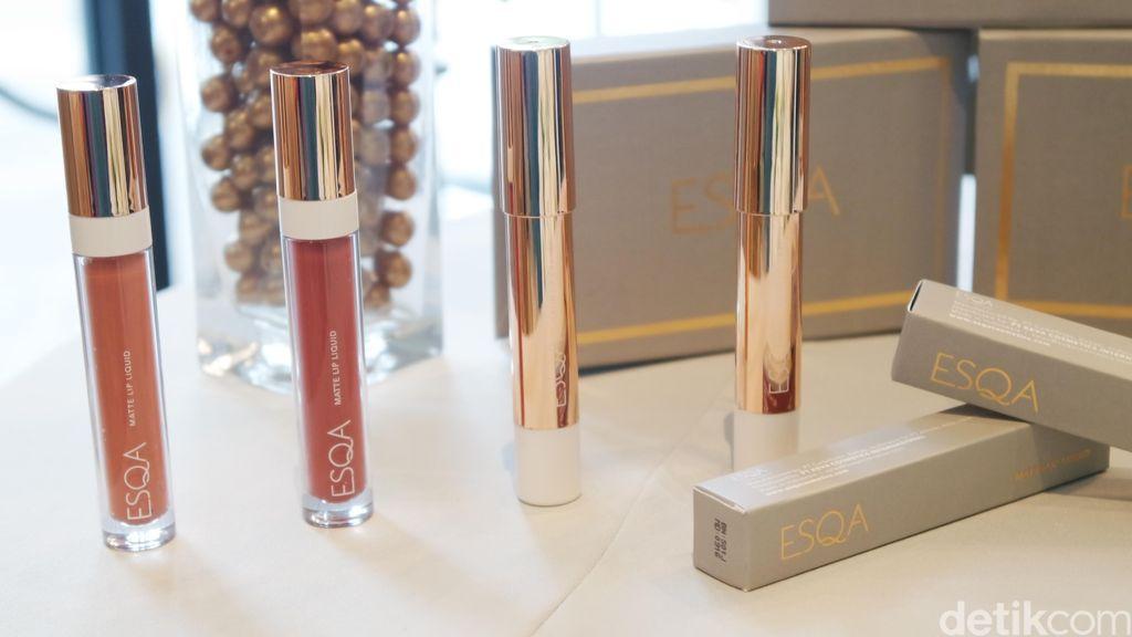 Brand Lokal ESQA Rilis Lipstik Matte Warna Coklat Coral dan Merah Gelap