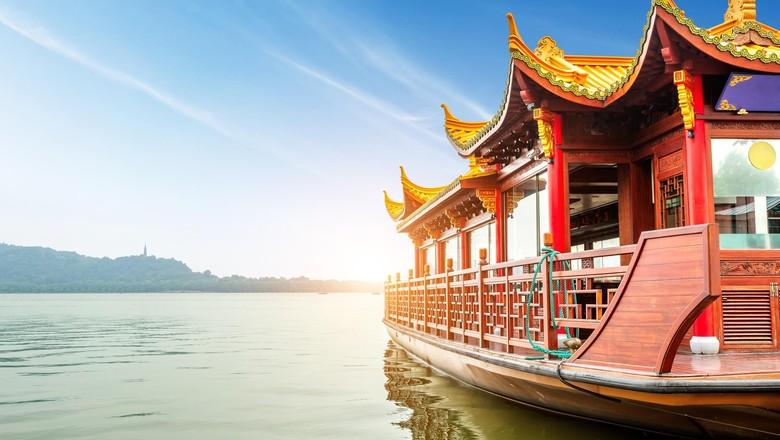 Foto: Danau Xi Hu di China (Thinkstock)