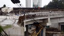 Pembangunan Jembatan Tol di Simpang Antasari