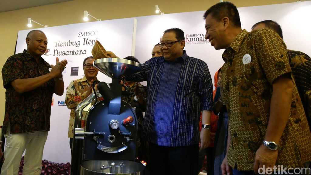 Menkop Buka SMESCO Rembug Kopi Nusantara