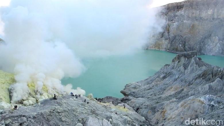 Foto: Kawah Ijen di Banyuwangi (Afif/detikTravel)