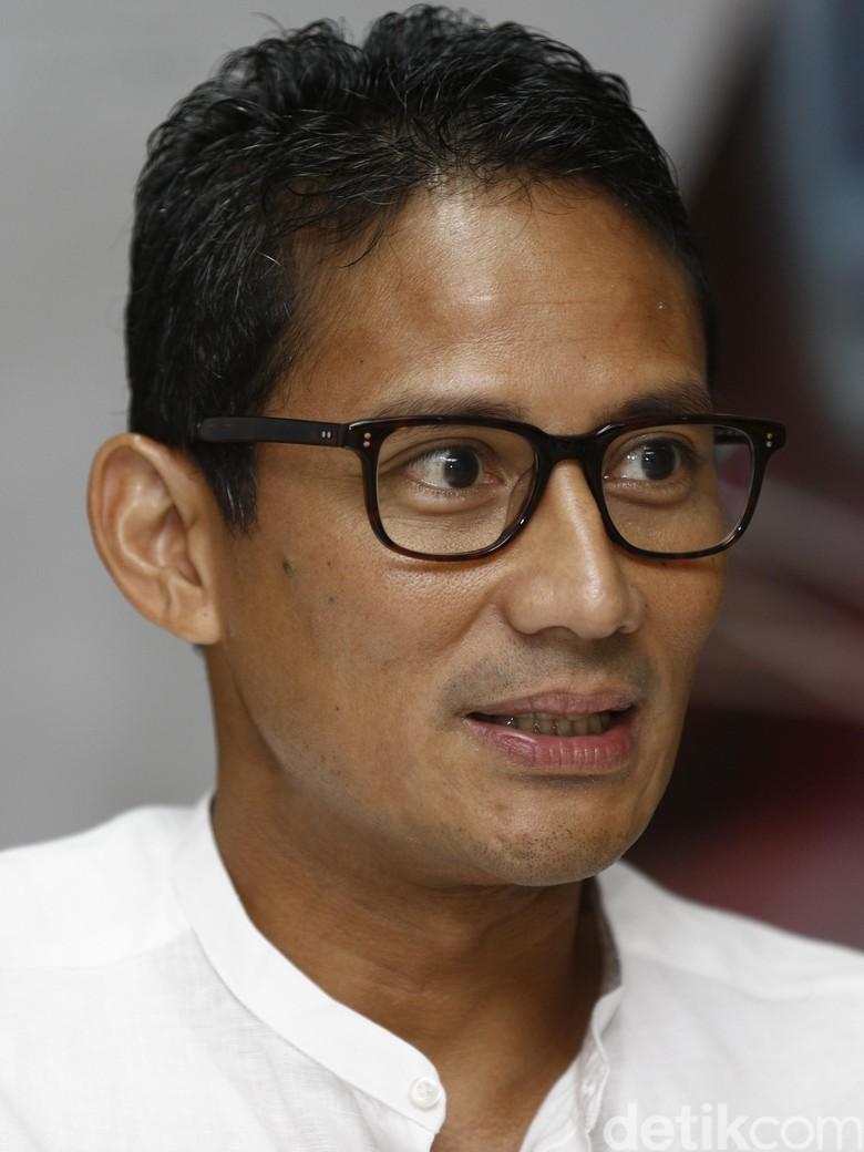Sandiaga: Pak Gubernur Kemarin Mencibir Saya