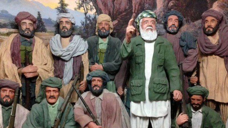 Museum ini terletak di salah satu puncak bukit yang ada di Kota Herat, Afghanistan (BBC)