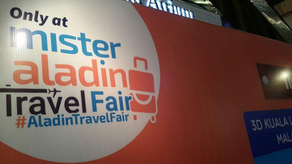 Yuk ke Mister Aladin Travel Fair Akhir Pekan Ini!