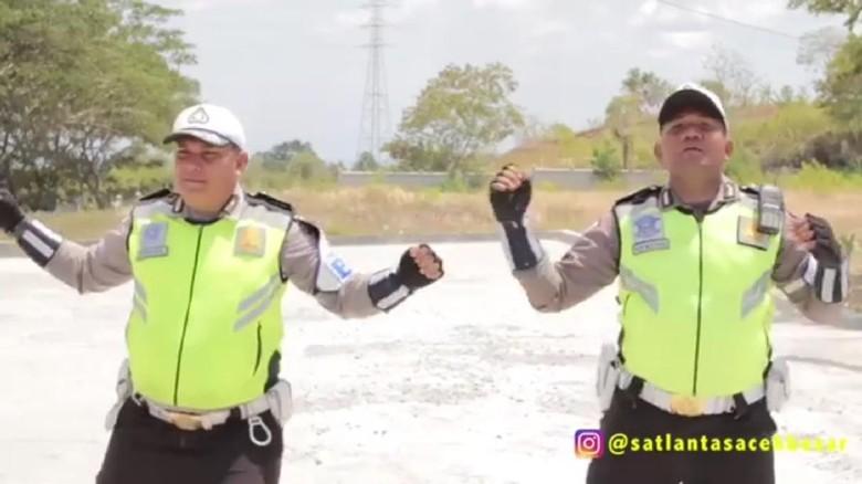 Cerita Polisi Sukses Tekan Angka Kecelakaan Lewat Video Kocak