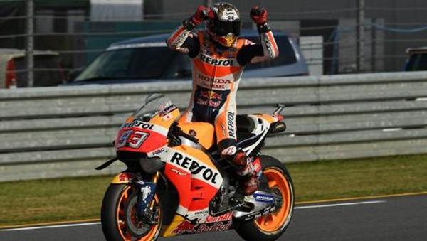 Rossi: Marquez Paling Konsisten, Amat Kencang, dan Menang Banyak Balapan