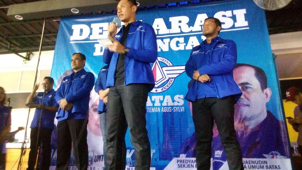 Deklarasi Relawan, Agus Yudhoyono Diminta Perangi Narkoba dan Korupsi