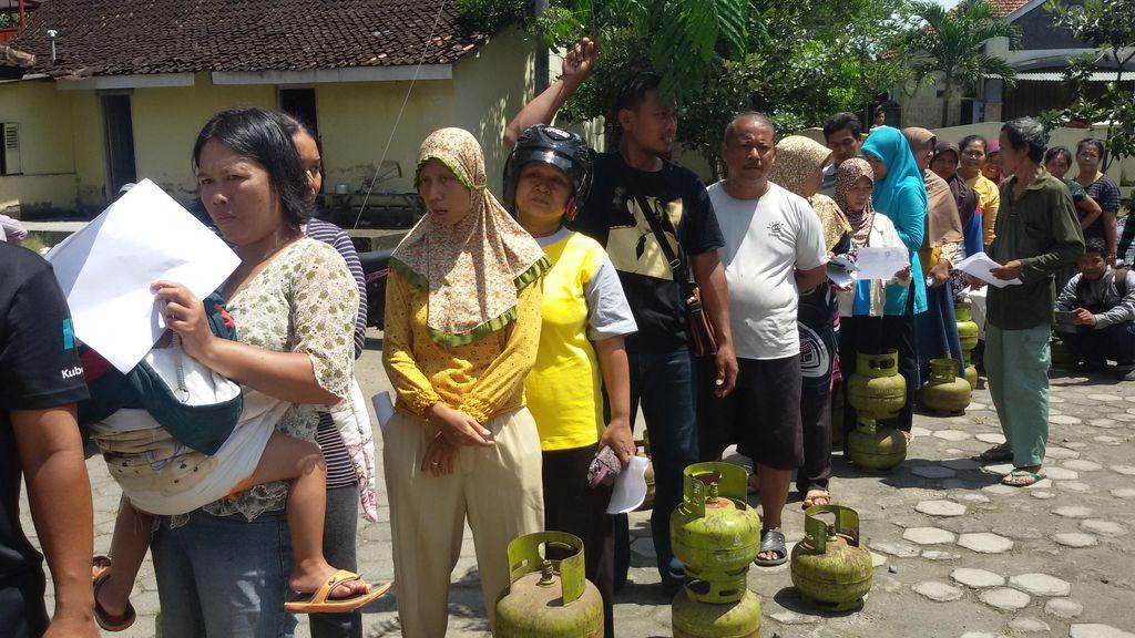 Elpiji 3 Kg di Yogya Sempat Rp 27.000 Sebelum Operasi Pasar