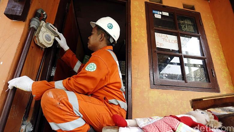 Kota di Kalimantan Ini Jadi Percontohan Jaringan Gas Rumah Tangga