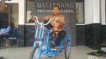 Kisah Penyandang Disabilitas yang Ingin Mandiri dengan Modifikasi Motor