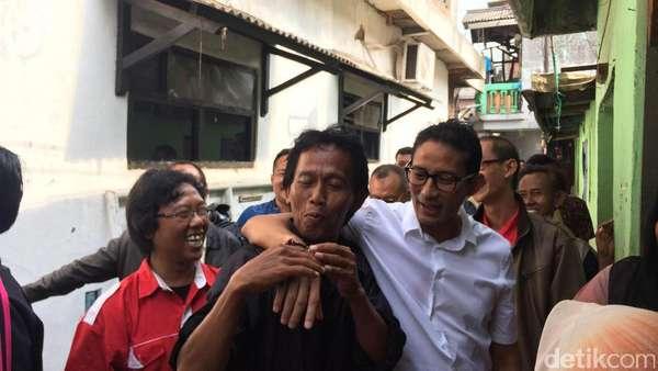 Penuhi Nazar, Sandiaga akan Kembali Blusukan Usai Penetapan KPU