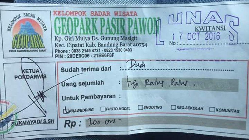 Duh! Motret di Stone Garden Bandung Harus Bayar Rp 300 Ribu