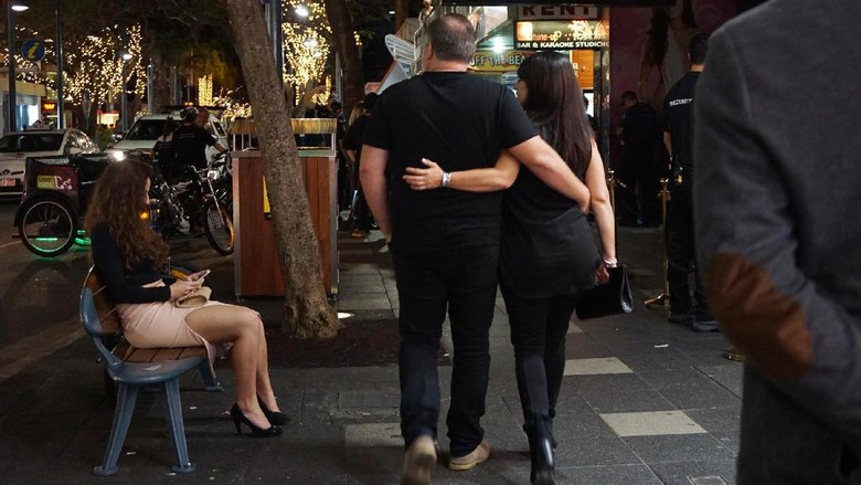 Kehidupan malam di Gold Coast, Australia (Rachman Haryanto/detikTravel)