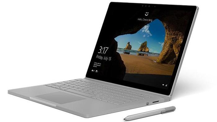 Surface Book. Foto: Microsoft