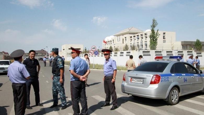 Foto: Ilustrasi polisi di Turkmenistan (Vladimir Pirogov/Reuters)