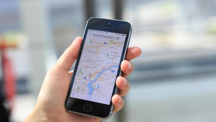 Ilustrasi Google Maps. Foto: ShutterStock