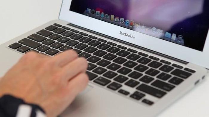 Ilustrasi MacBook Air. Foto: Getty Images