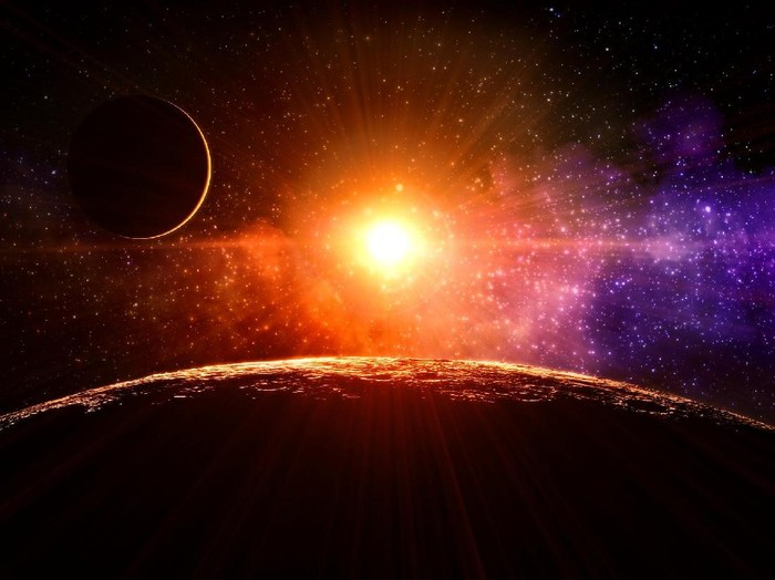 Ilustrasi luar angkasa (Foto: Thinkstock)