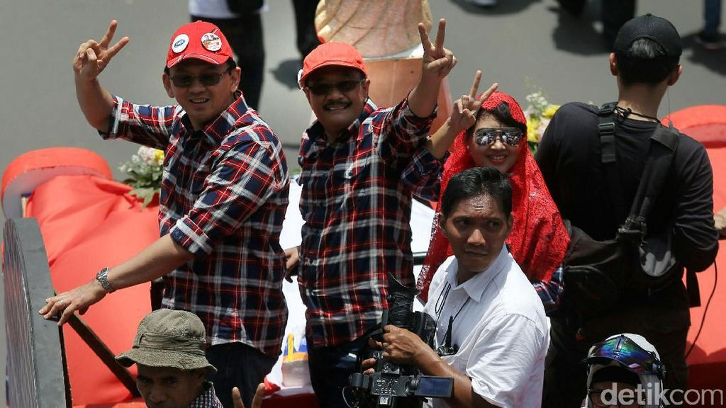 Pendukung Ahok-Djarot Ramaikan #KonserGue2