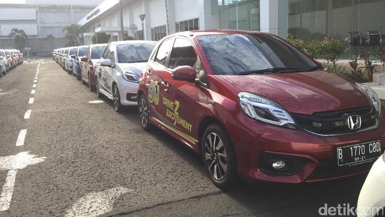 Honda Jual 16.723 Unit Mobil di Bulan Mei