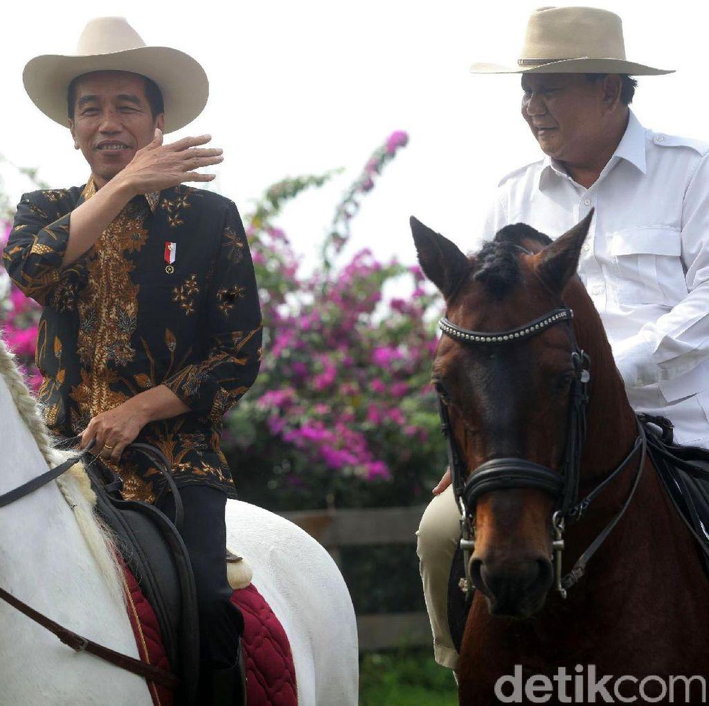 Survei Litbang Kompas: Selain JK, Prabowo Cawapres Terkuat Jokowi