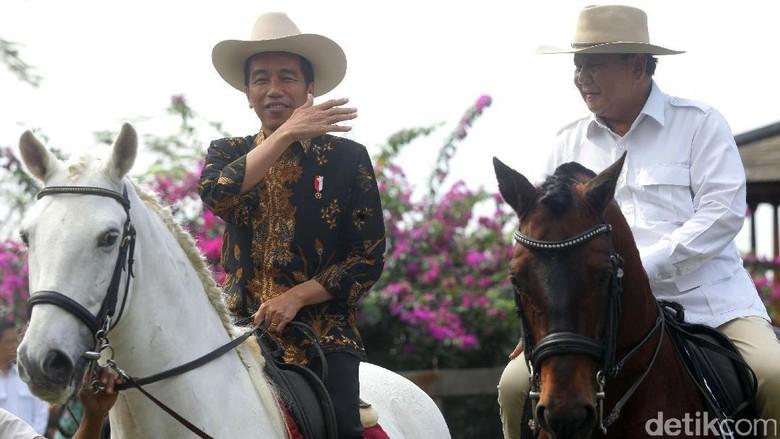 Ketua MPR: Pertandingan Jokowi dan Prabowo Berakhir di Atas Kuda