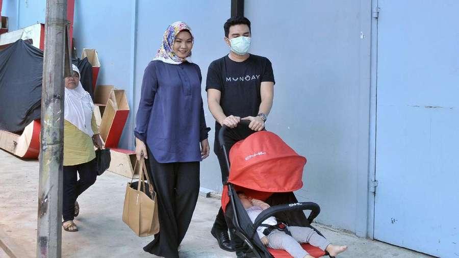 Kebersamaan Aldi Taher dan Keluarga