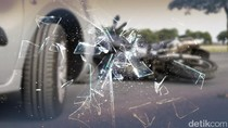 Ibu dan Anak Tewas Tertabrak Truk Saat Naik Ojek di Serang