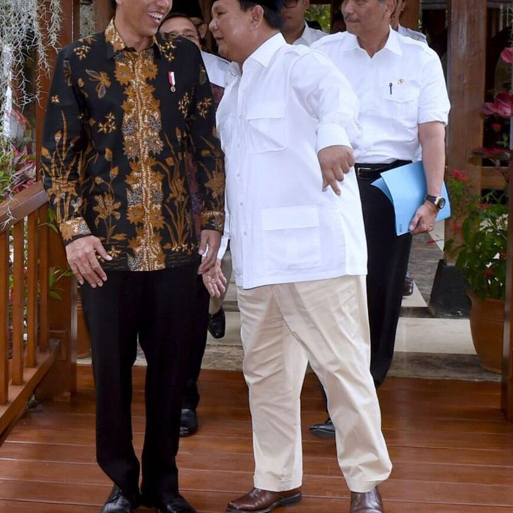 Gerindra Tolak Opsi Duet Jokowi-Prabowo