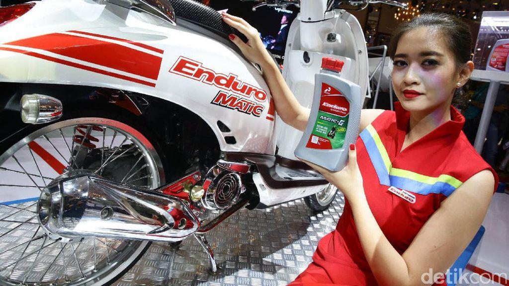 Enduro Matic-G, Pelumas Baru dari Pertamina untuk Skuter Matik