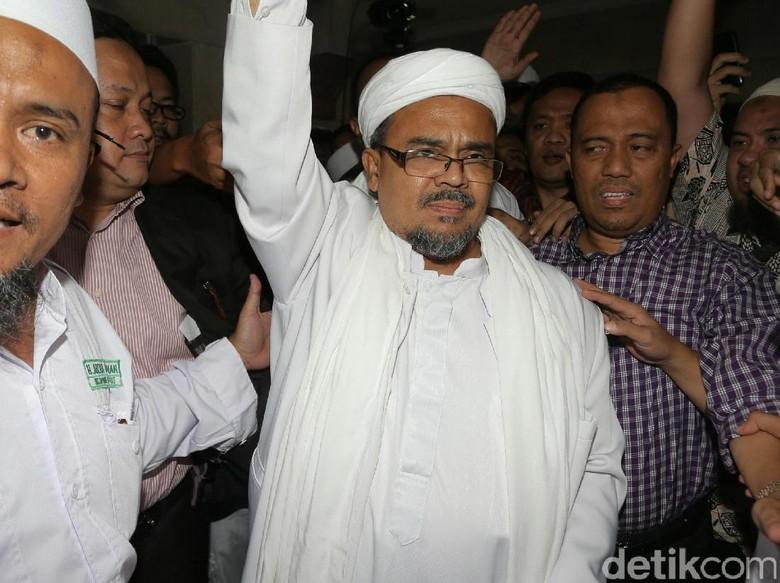 Habib Rizieq Nilai Kasusnya Sarat Politis dan Minta Dihentikan