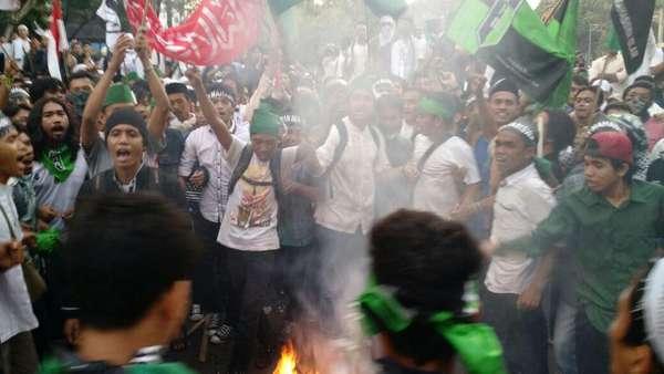 Tampik Keterangan Polisi, HMI: Tak Ada Komando Serang Polisi saat Demo