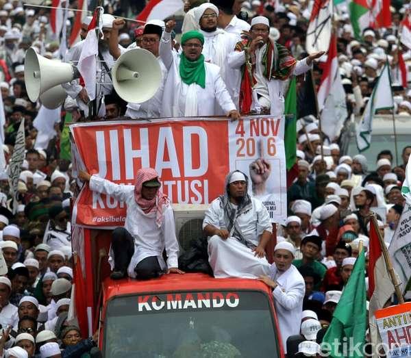 Misteri Aktor Politik Penunggang Demo 4 November Mulai Terungkap?