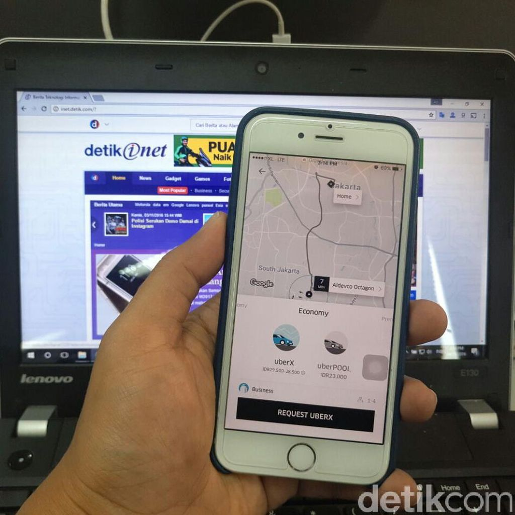 Tanggapi Penumpang Tuyul, Ini Kata Uber