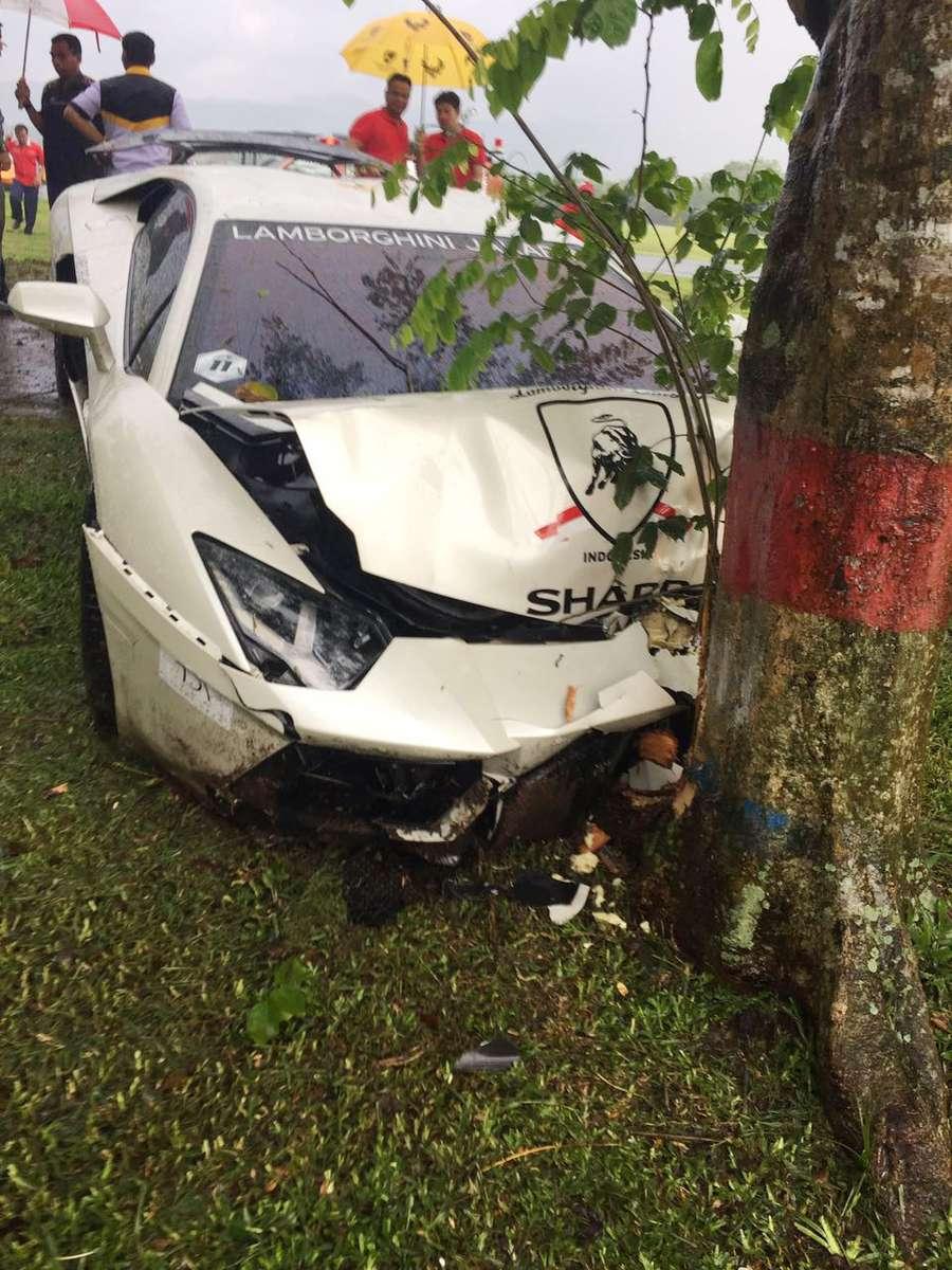 Penampakan Lamborghini Raffi Ahmad yang Ringsek, Harvey Moeis, Calon Suami Sandra Dewi