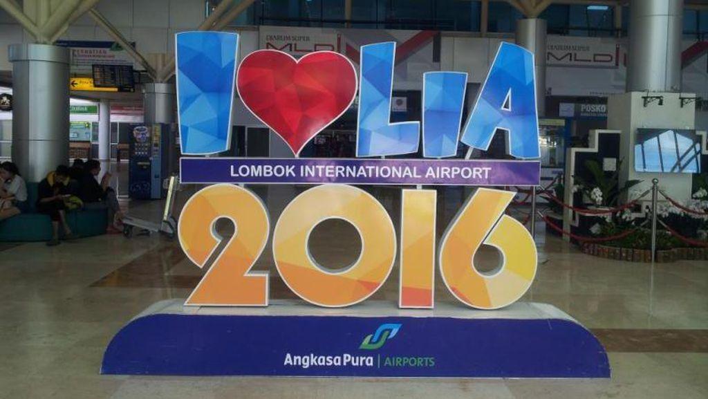 Bandara Lombok Praya Kembali Beroperasi Normal