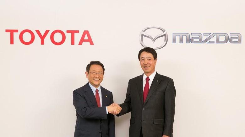 Mazda, Toyota, dan Denso Bersatu Kembangkan Mobil Listrik