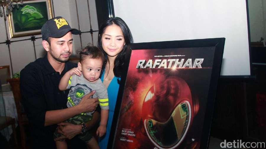 Hore! Happy-nya Rafathar Bersama Raffi Ahmad dan Nagita Slavina