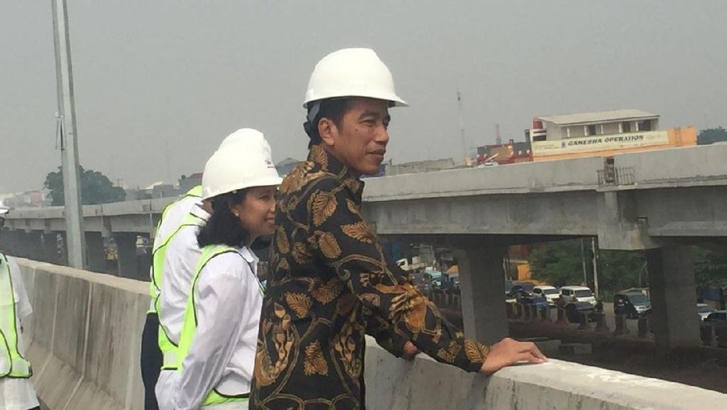 Jokowi Terus Bangun Infrastruktur Hingga 2019