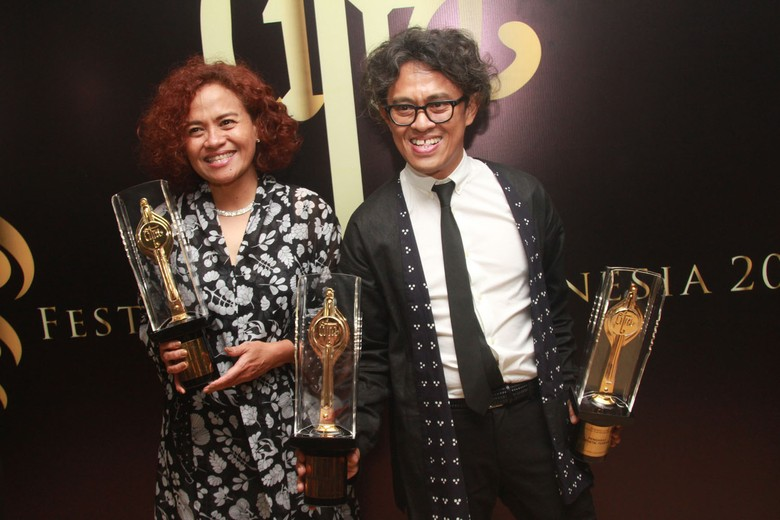 Pertama Dapat Piala Citra, Riri Riza Bangga Film Indonesia Makin Maju