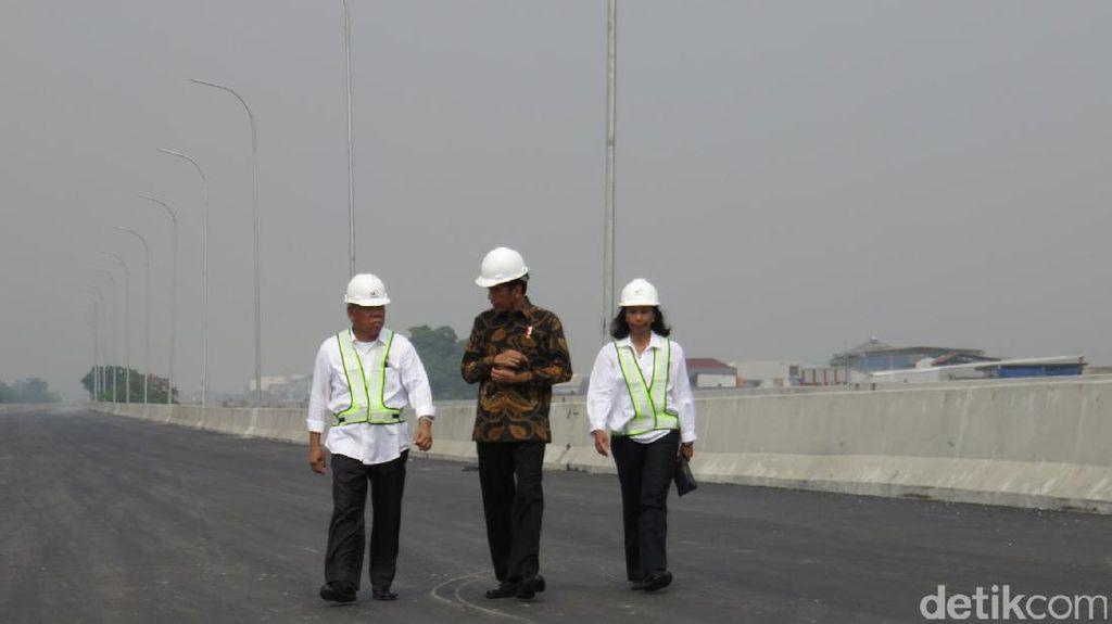 Kebut Proyek Tol Becakayu, Jokowi: Kemacetan Sudah Terlalu Parah